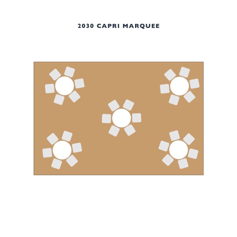 COVID MARQUEE HIRE 2 - 2030 CAPRI MARQUEE